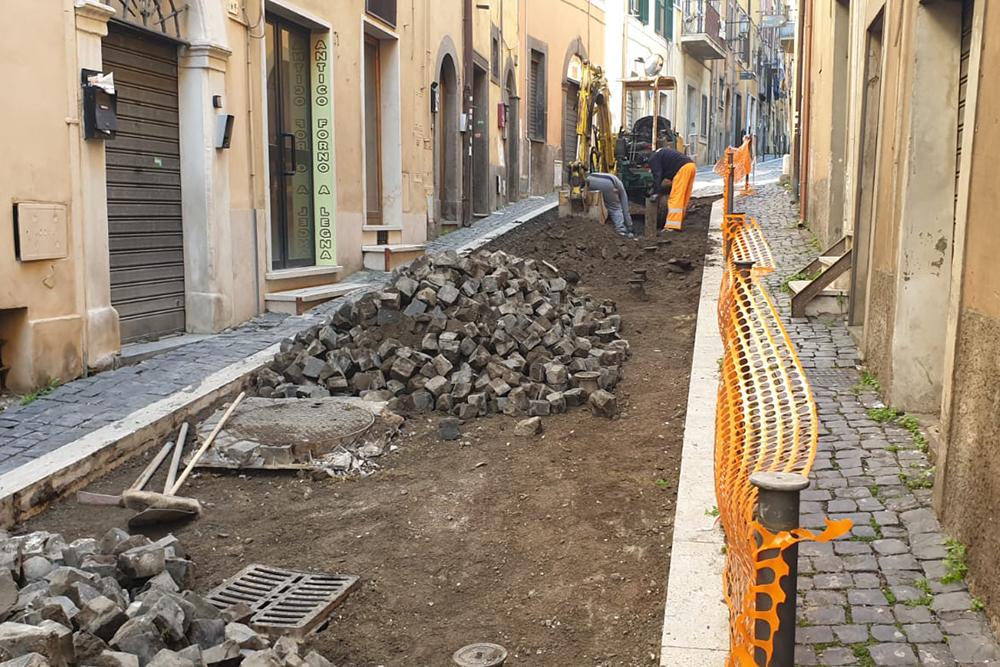 ripristino manto stradale roma